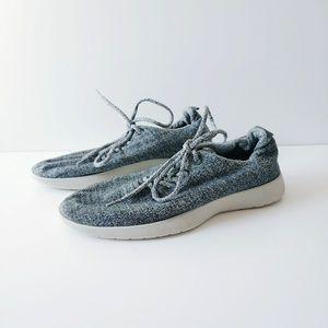 Allbirds Wool Runner Heather Gray Sneakers Size 9